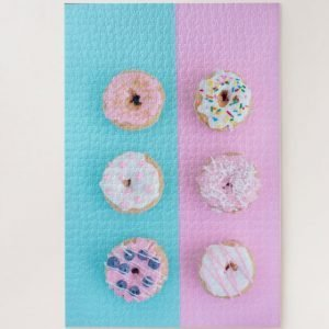 Assorted Doughnuts – 1000 piece jigsaw puzzle