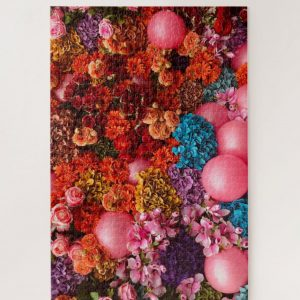 Assorted Flowers and Balloons – 1000 piece jigsaw puzzle