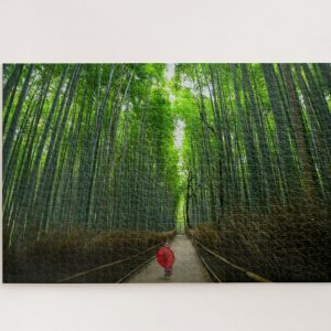 Bamboo Forest in Japan – 1000 piece jigsaw puzzle