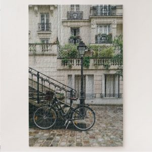 Biking in Paris – 1000 piece jigsaw puzzle