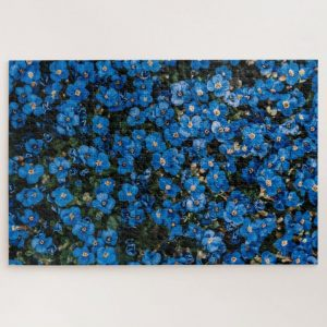 Blue Flower Field – 1000 piece jigsaw puzzle
