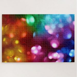 Blurred Colurful Lights – 1000 piece jigsaw puzzle