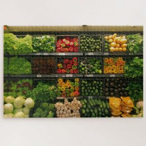Bunch of Vegetables – 1000 piece jigsaw puzzle