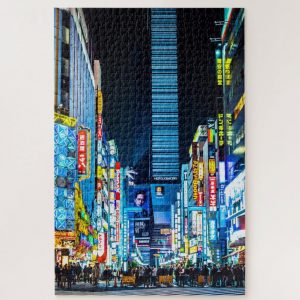 Bustling Tokyo Japan – 1000 piece jigsaw puzzle