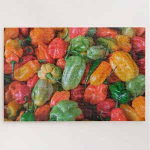 Chilli Peppers – 1000 piece jigsaw puzzle