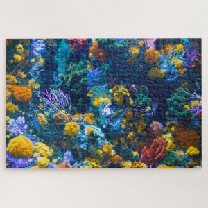 Colorful Coral – 1000 piece jigsaw puzzle