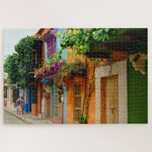 Colorful Homes in Spain – 1000 piece jigsaw puzzle