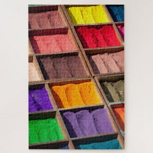 Colorful Powders – 1000 piece jigsaw puzzle
