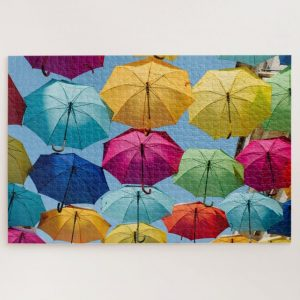 Colorful Umbrellas – 1000 piece jigsaw puzzle