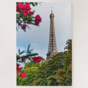Eiffel in the Distance – 1000 piece jigsaw puzzle