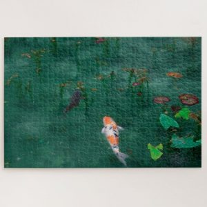 Koi in Japan – 1000 piece jigsaw puzzle