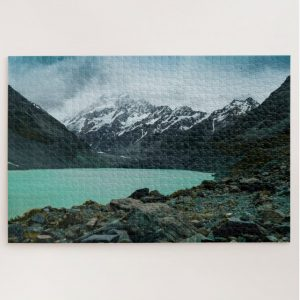 Lake and Mountain Landscape – 1000 piece jigsaw puzzle