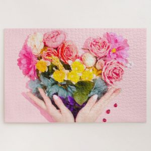 Love Bouquet – 1000 piece jigsaw puzzle