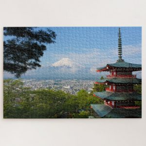 Mount Fuji in Japan – 1000 piece jigsaw puzzle