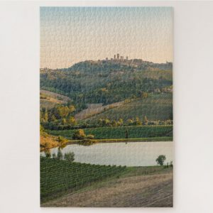 Mountain Ranges in Tuscany – 1000 piece jigsaw puzzle