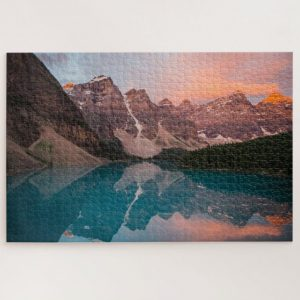 Banff National Park Of Canada – 1000 piece jigsaw puzzle