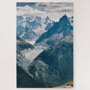 Mountainscape – 1000 piece jigsaw puzzle