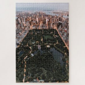 New York Aerial View – 1000 piece jigsaw puzzle