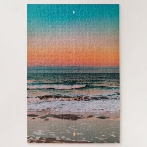 Ocean at Sunset – 1000 piece jigsaw puzzle