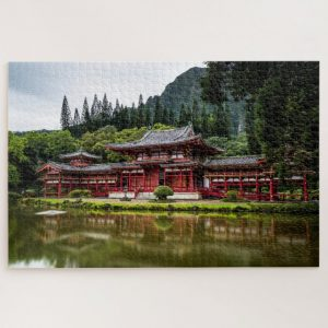 Peaceful Temple Scenery – 1000 piece jigsaw puzzle
