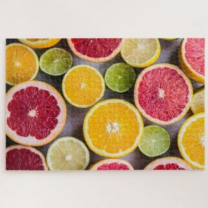 Pomegranate Lime and Lemons – 1000 piece jigsaw puzzle