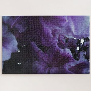 Purple Hibiscus Closeup – 1000 piece jigsaw puzzle
