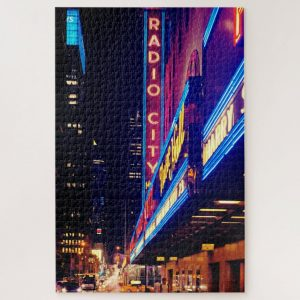 Radio City Sign – 1000 piece jigsaw puzzle