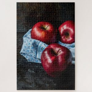 Red Apples – 1000 piece jigsaw puzzle