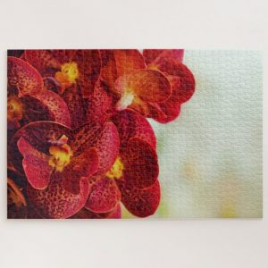 Red Orchids – 1000 piece jigsaw puzzle