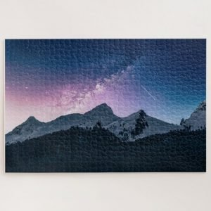 Shooting Star against the Milkway – 1000 piece jigsaw puzzle
