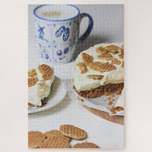 Stroopwaffles and Tea – 1000 piece jigsaw puzzle
