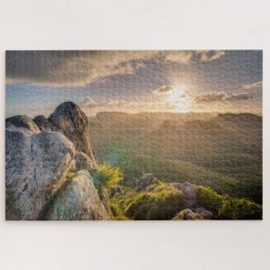Sunrise at the top of the World – 1000 piece jigsaw puzzle