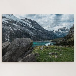 Switzerland Apls Body of Water – 1000 piece jigsaw puzzle