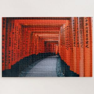 Torri Gates in Japan – 1000 piece jigsaw puzzle