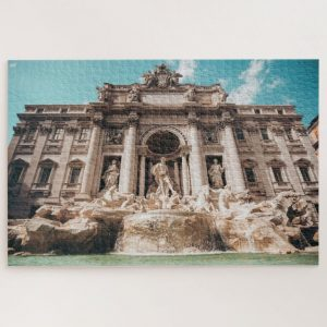 Trevi Fountain Italy – 1000 piece jigsaw puzzle