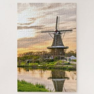 Windmill in Holland – 1000 piece jigsaw puzzle